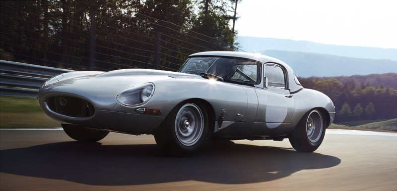 The 1963 Jaguar E-Type Lightweight sold out for $7,370,000