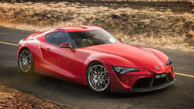 2018 Toyota Supra- the most anticipated petrol car this year