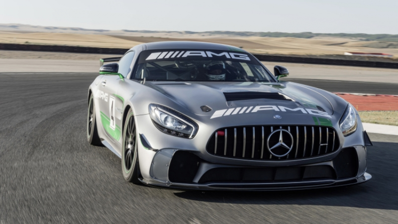 Meet your entry-level world-class racecar - the new Mercedes-AMG GT4!
