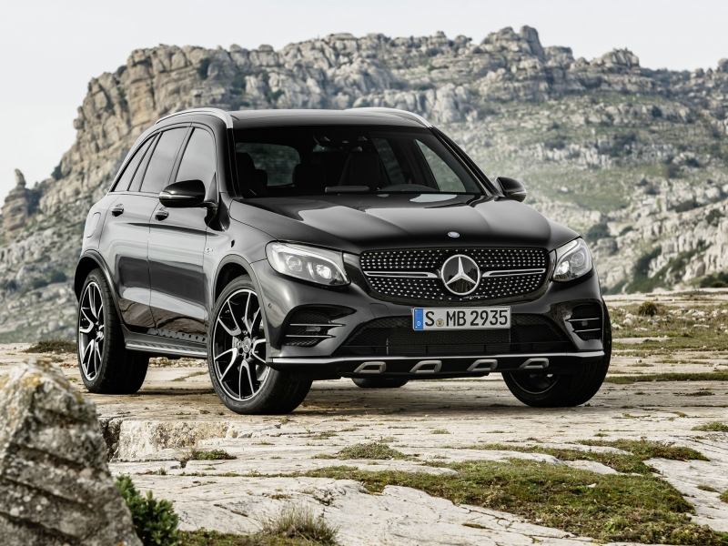 We drove this new 2017 Mercedes AMG GLC43