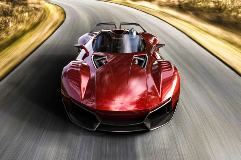The new Rezvani Beast X has crazy performance indexes!