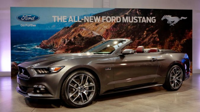 2015 Ford Mustang new arrival