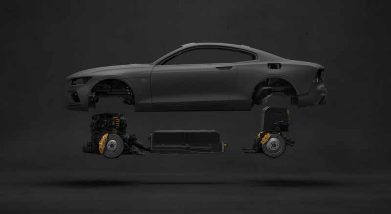 Polestar's first road legal car revealed