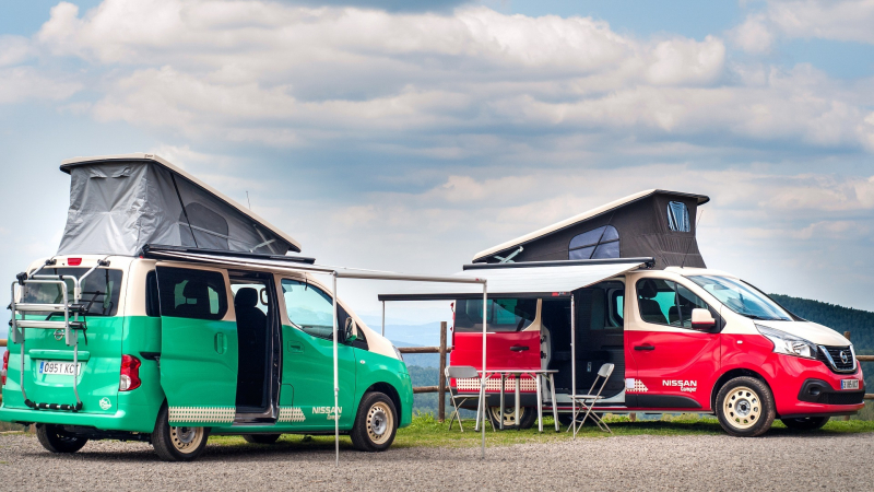 Nissan Reveals A Duo Of Camper Vans In Spain