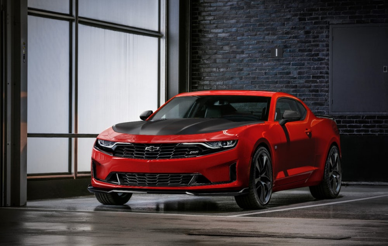 The 2019 Chevrolet Camaro Gets a New Look