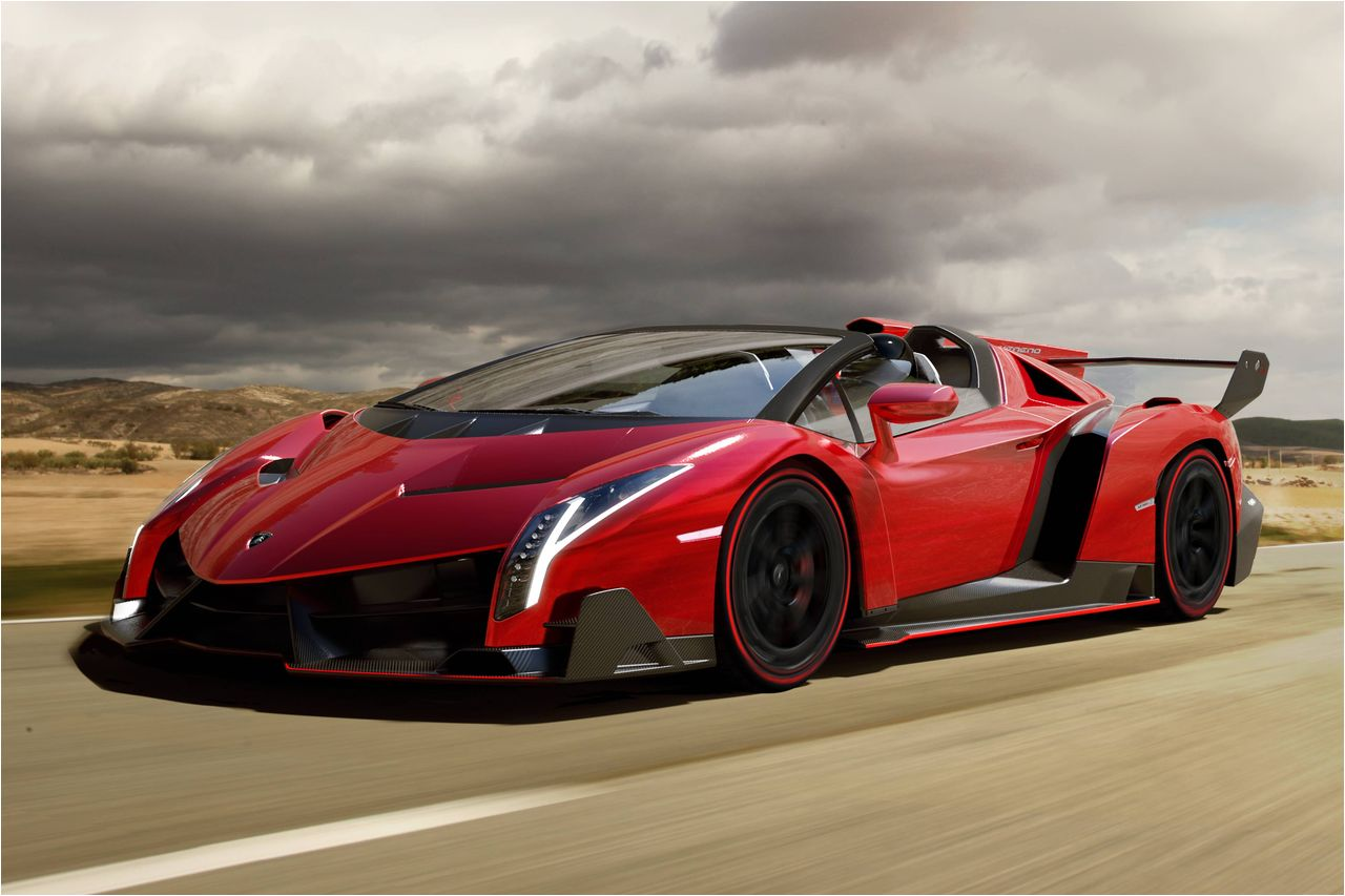 Lamborghini Veneno - one of the most exclusive hypercars