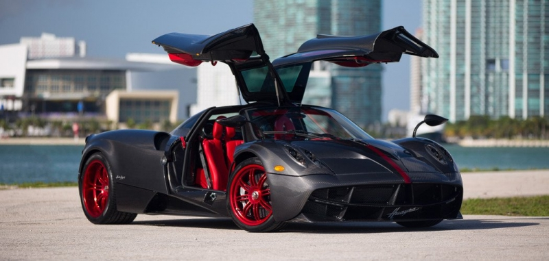 The first personal Pagani Huayra arrived in Miami