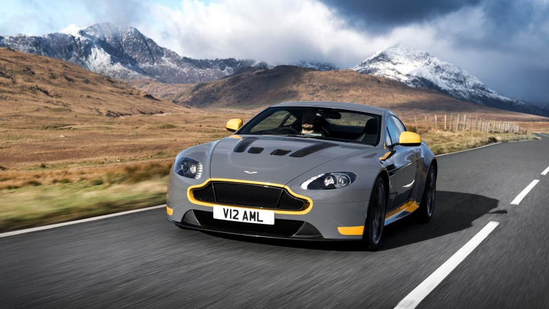 Aston Martin offers a seven-speed manual transmission on the V12 Vantage S