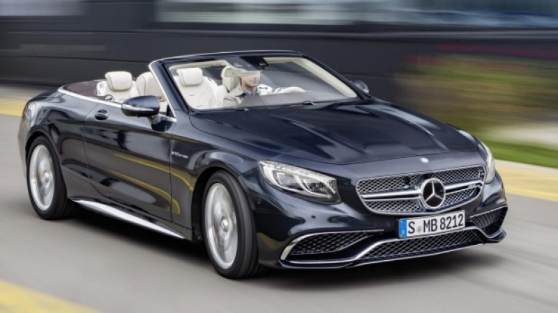 New 2017 Mercedes-AMG S65 Cabriolet has revealed