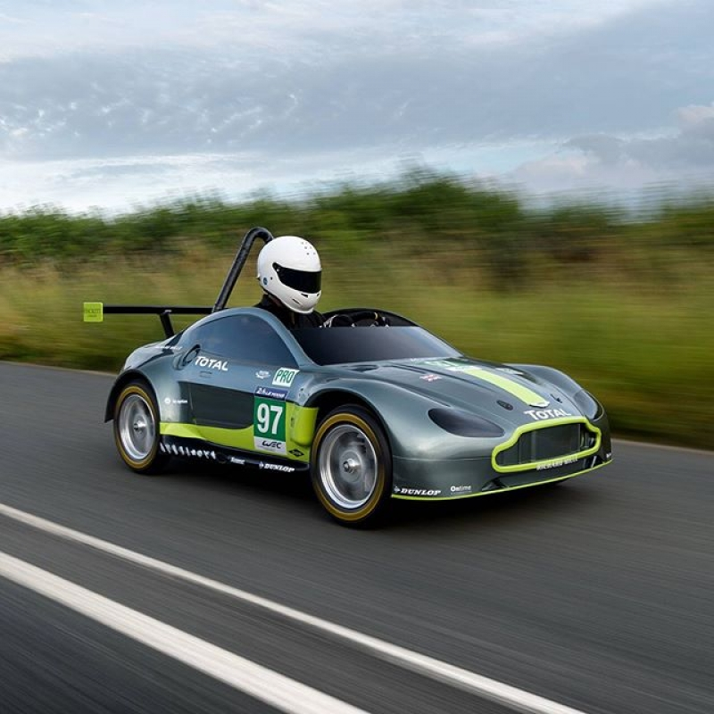Aston Martin reveals its amazing AMR-SB race car!
