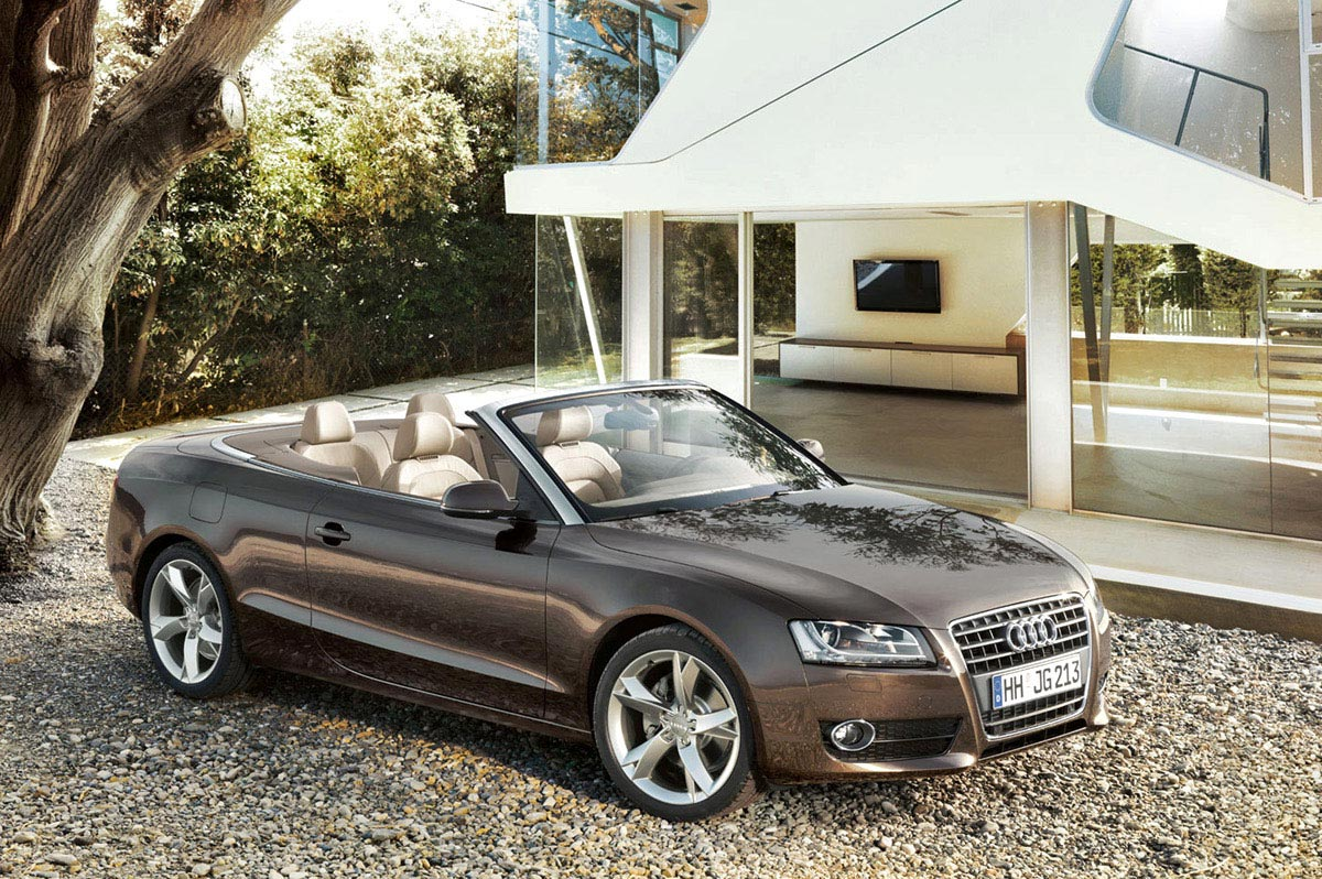 The next-generation Audi A5 cabriolet comes into focus
