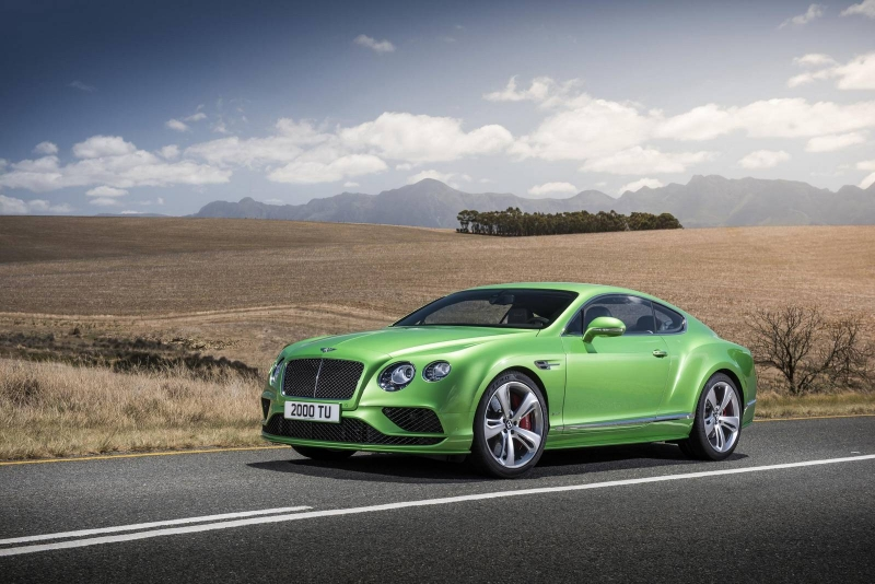 Bentley recalling its Continental line-up cars from Russia