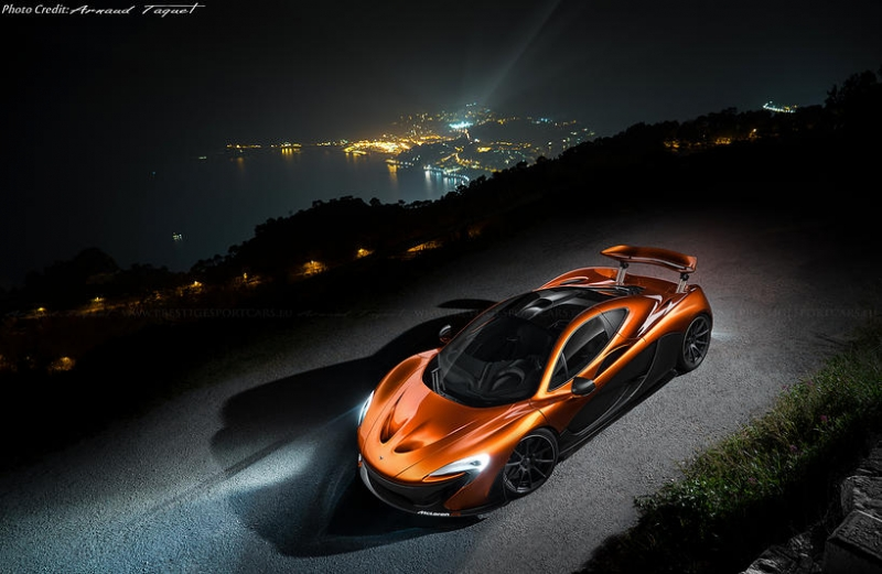 A stunning Volcano Orange McLaren P1 MSO was recently unveiled