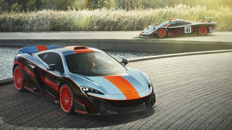 McLaren 675LT Gets Paint Scheme From Its Dad