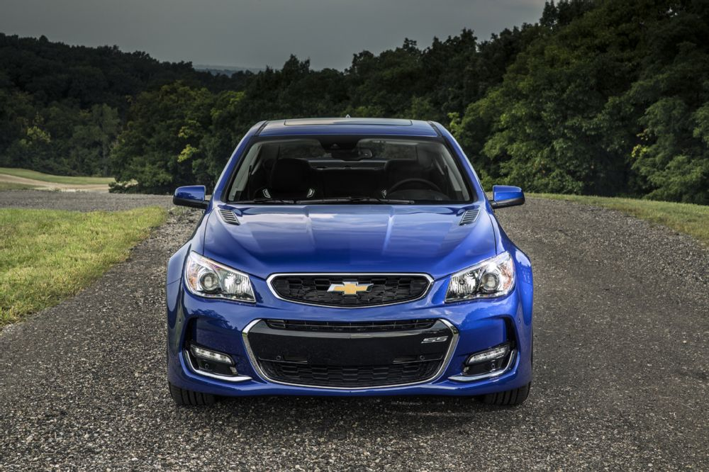 Waiting for the 2016 Chevrolet SS