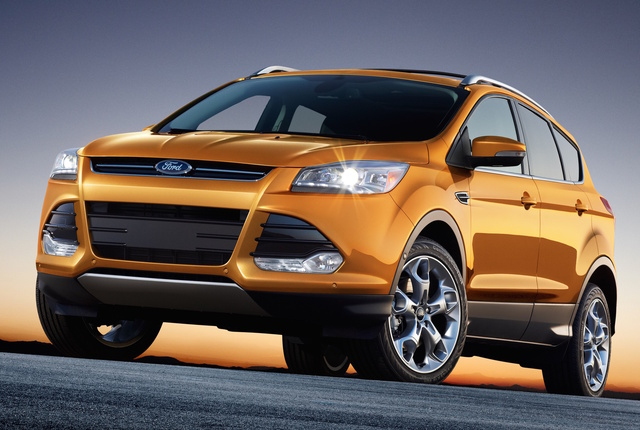Ford's Escape crossover aims to conquer new cutomers
