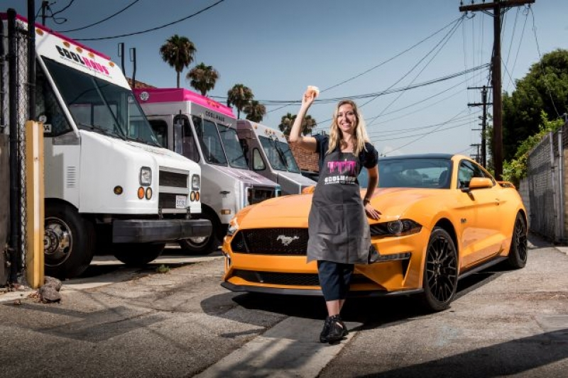 Ford Mustang and Coolhaus to debut Orange Fury ice cream sandwiches