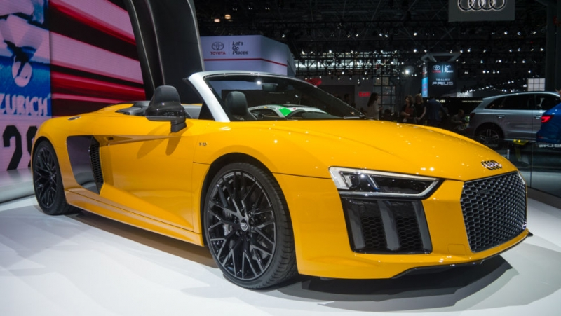 New Audi R8 Spyder specifications revealed