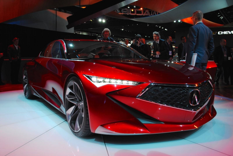 The stunning forthcoming of the new Acura Precision Concept at the 2016 Detroit Motor Show