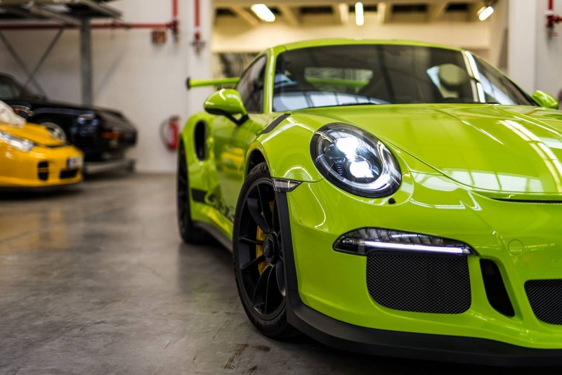 The exclusive 2016 Porsche 911 GT3 RS painted in Birch Green is really unique
