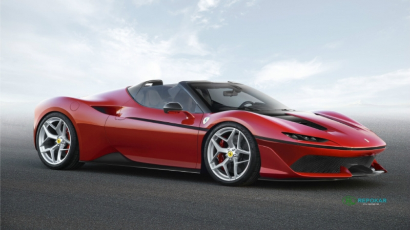 10 Unique built Ferrari J50 models for its anniversary