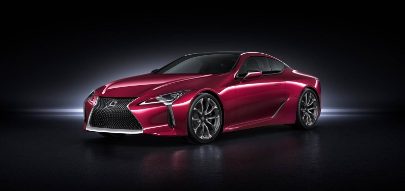We'll finally see a coupe from Lexus - the 2017 Lexus LC 500