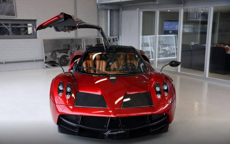 The first and only Pagani Huayra in Netherlands is easily worth of a million euros
