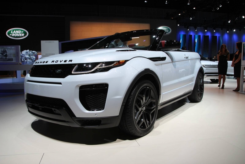 Will the bizarre 2016 Range Rover Evoque Convertible find its customer?!