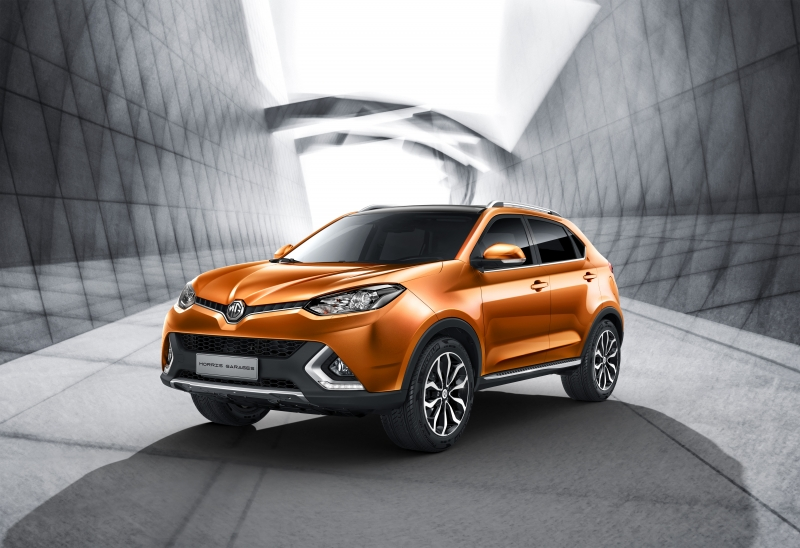 Morris Garages revealed its upcoming GS crossover!