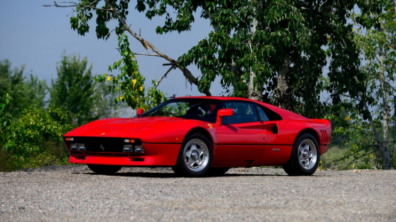 Ferrari 288 GTO up for auction in Monterey!
