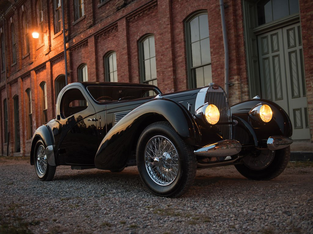 RM Sotheby's sells on auction a very rare 1938 Bugatti Type 57C Atalante