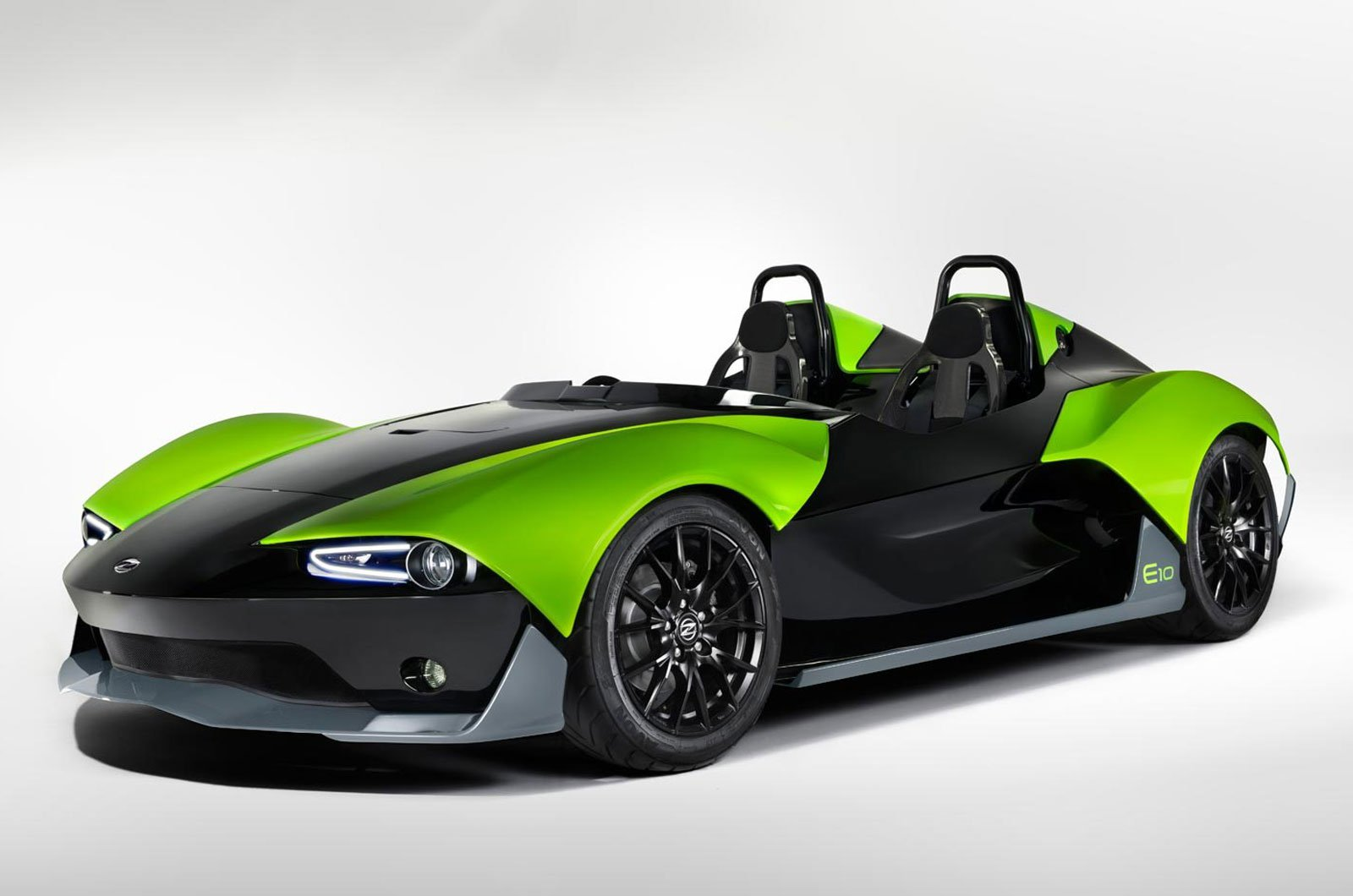 Zenos E10 - an exclusive sports car that is sold for the first time this year