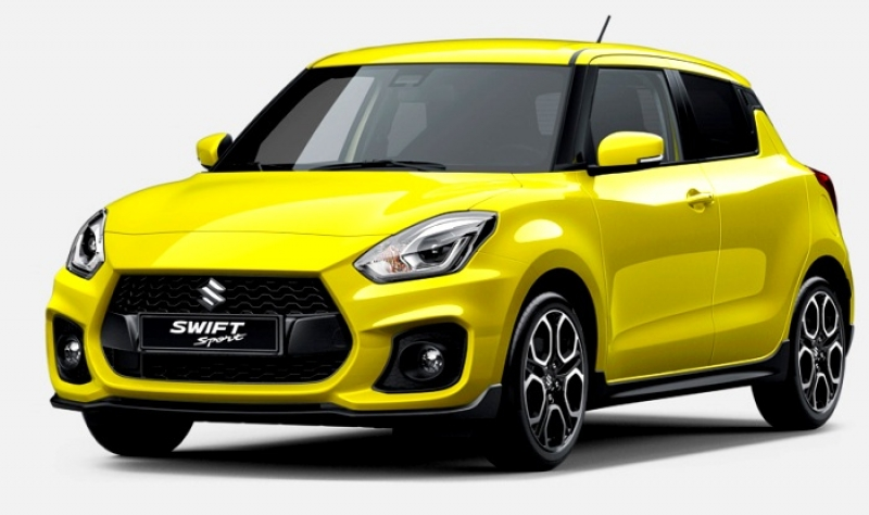 Suzuki Swift Sport: new adorable photos released