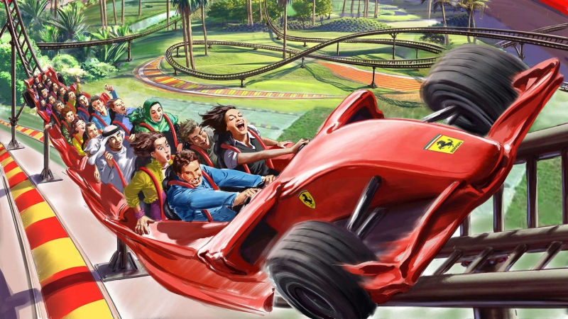 Ferrari will open a theme park in North America