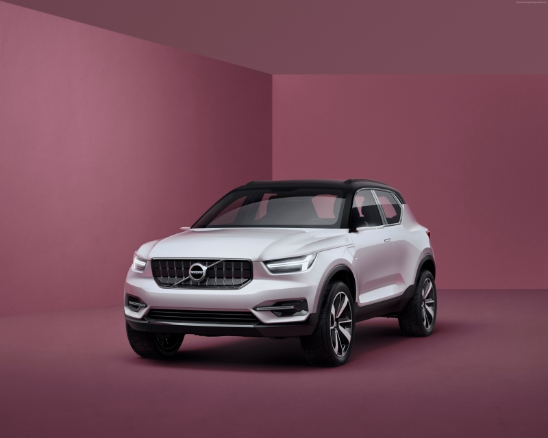 2018 Volvo XC40 revealed a week ahead of the official unveiling