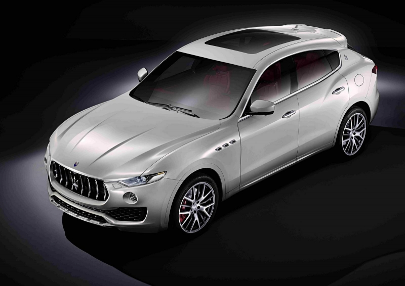 The very first SUV from Maserati - the 2017 Maserati Levante!