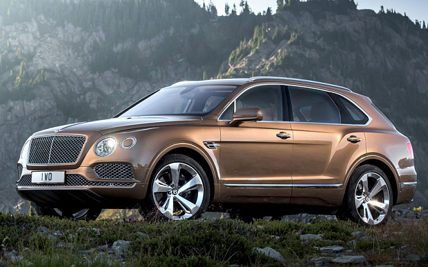 The first Bentley Bentayga reserved for Queen Elizabeth