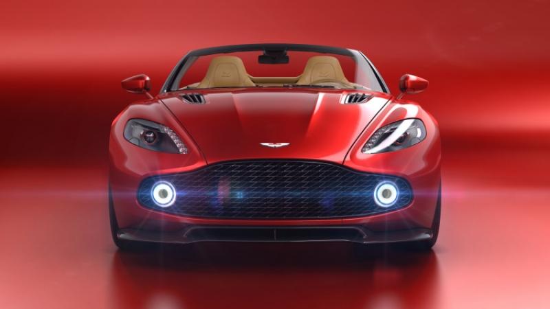 Aston Martin announces Vanquish Zagato Volante at Pebble Beach!