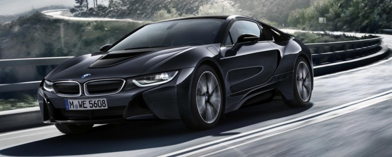 BMW i8 Protonic Dark Silver Edition will be revealed next week