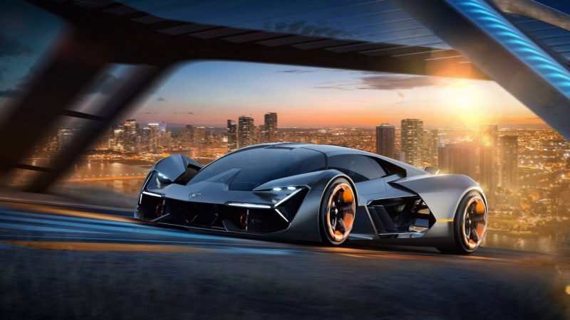 First electric Lamborghini ever: Terzo Millennio