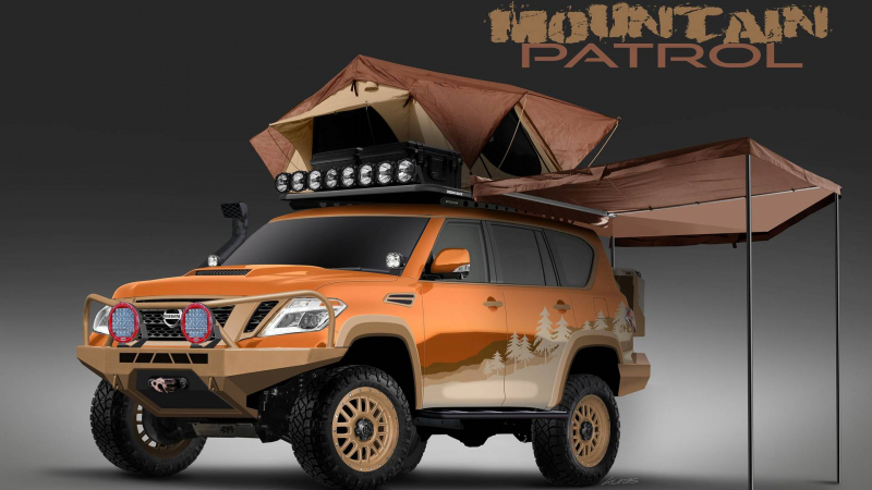 Nissan Is Turning An Armada Into Mountain Patrol Overlanding SUV