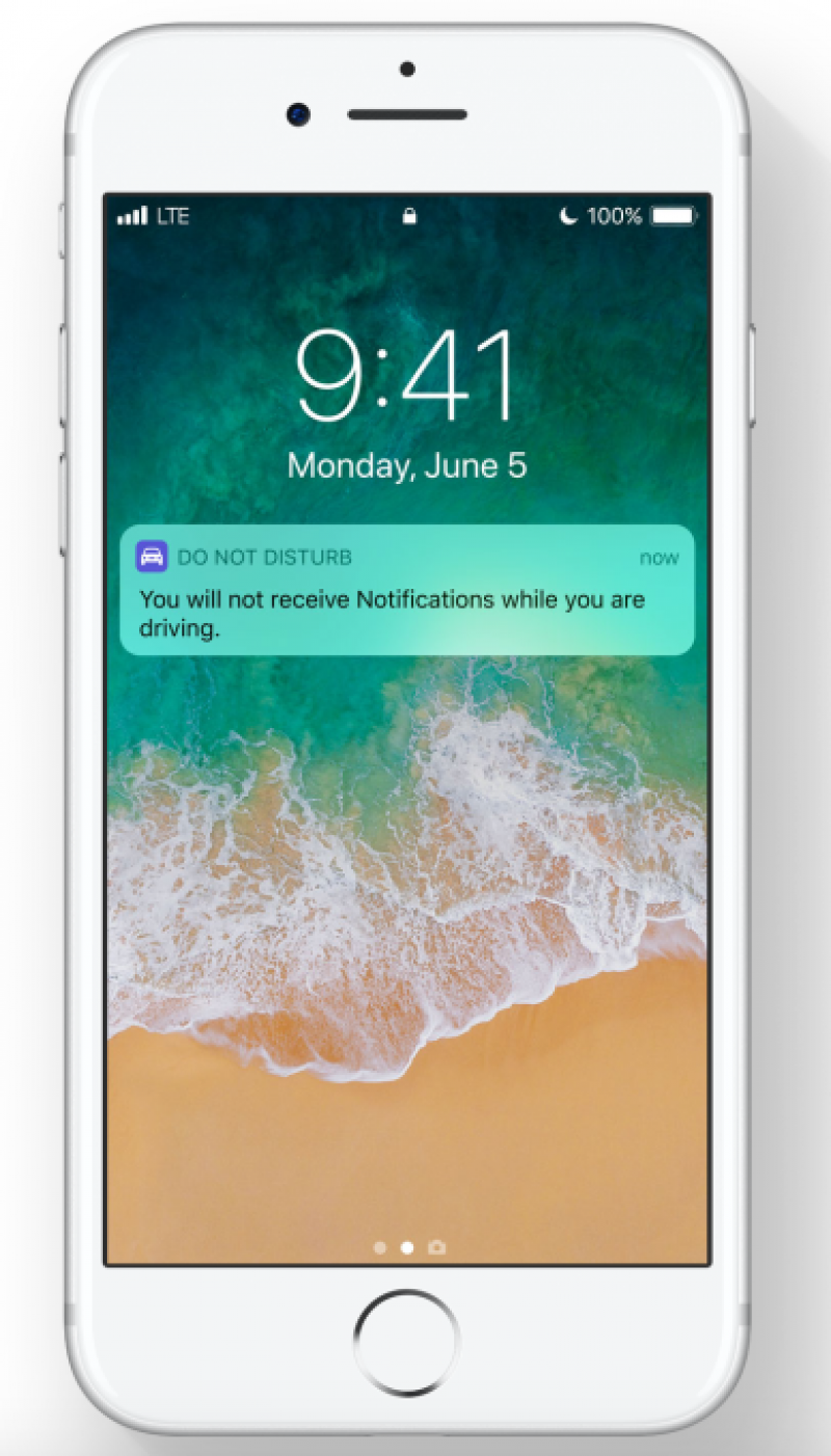 Apple reveals 'Do Not Disturb While Driving' iOS 11 feature