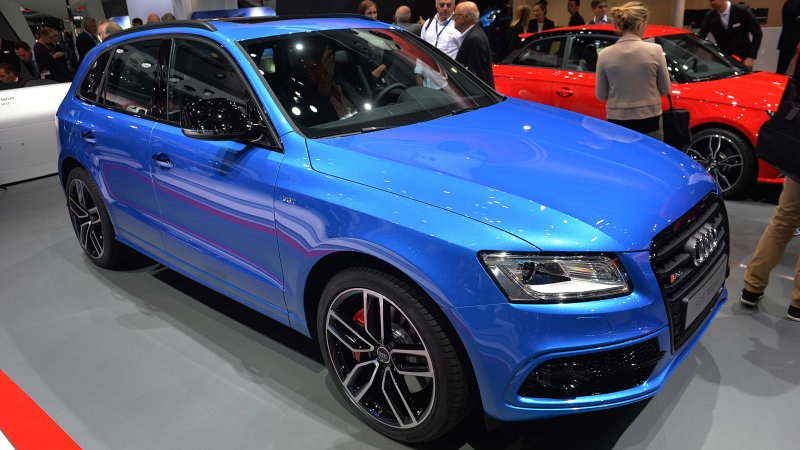 The upcoming 2018 Audi SQ5 will use 48v electric compressor!