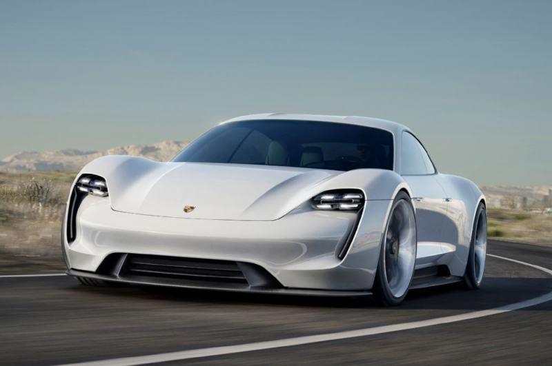 The new Porsche Mission E is a magnificent electric sports sedan