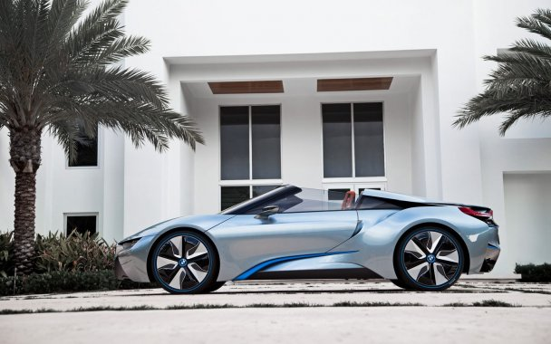 The Most Progressive Sports Car Of The Recent Years - The BMW I8