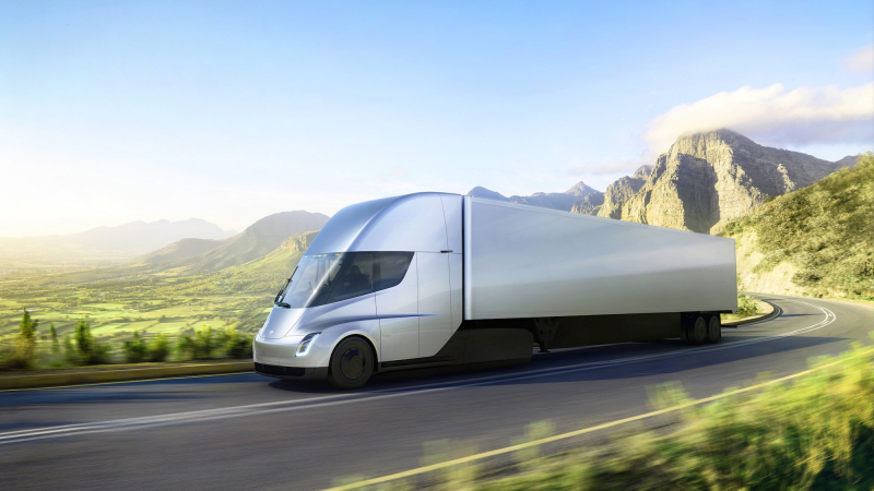 Tesla's Semi truck gets revealed