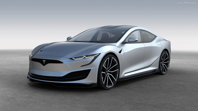 The Next-Generation Tesla Model S Could Look Like This