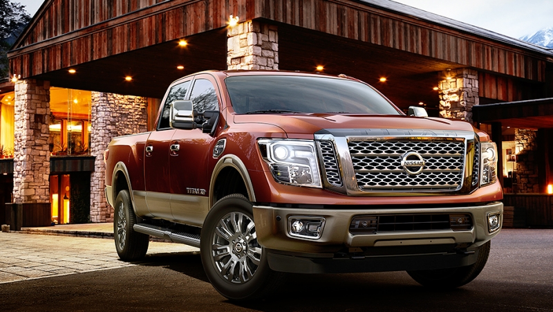 The Nissan Titan XD is finalist of the 2016 North American Truck/Utility of the Year award