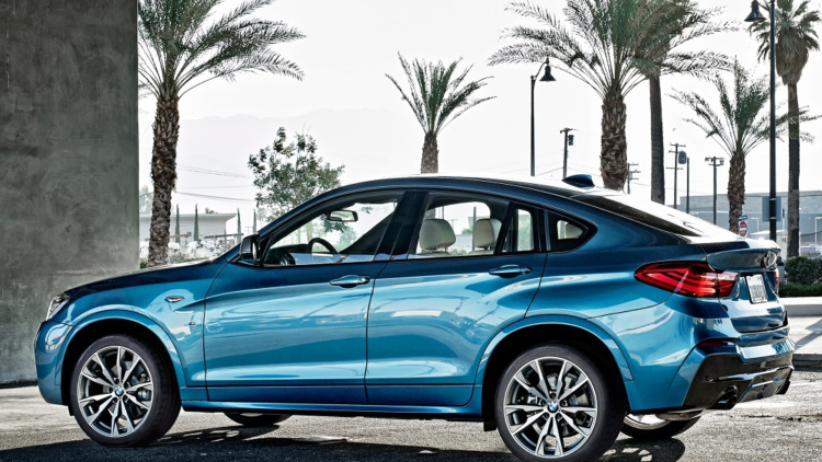 The BMW X4 M40i expected at the LA Auto Show