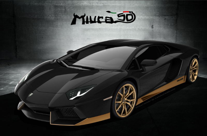 Eye Candy: the new Lamborghini Aventador Miura Homage